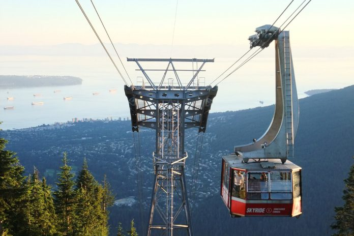 Skyride of Grouse Mountain, North Vancouver, BC