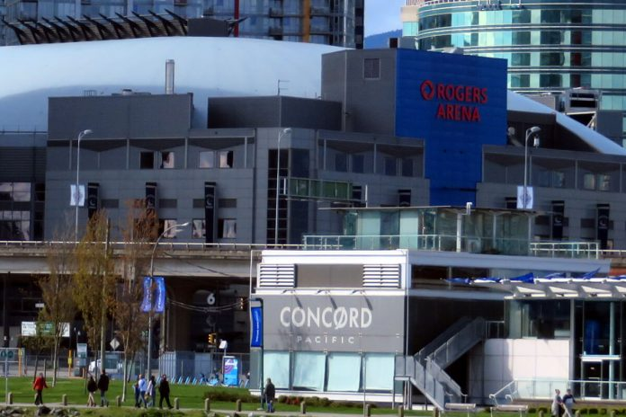 Rogers Arena, Vancouver, BC