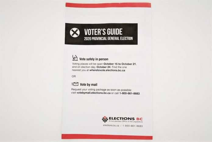 BC Election Guide 2020