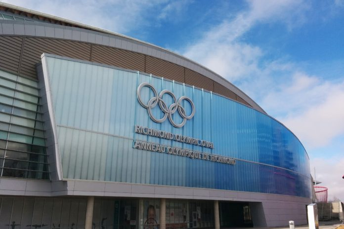 Richmond Olympic Oval in British Columbia; Photo by © Vancouver Shinpo