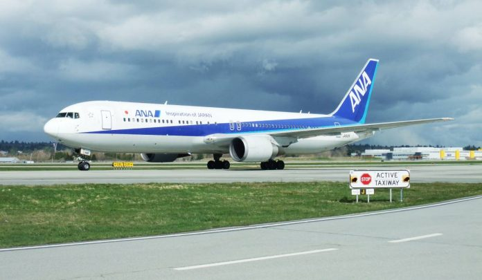 ANA at Vancouver Airport